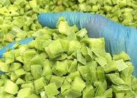 FDA IQF Frozen Vegetables Sweet Green Pepper Diced Bell Pepper Cubes