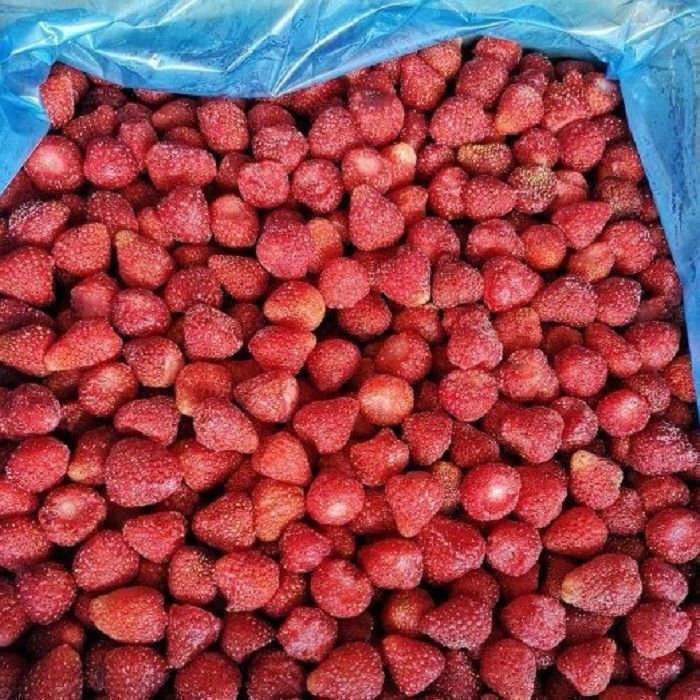 BRC Certified IQF Frozen Food Fruits 100% IQF Strawberry No Added Sugar
