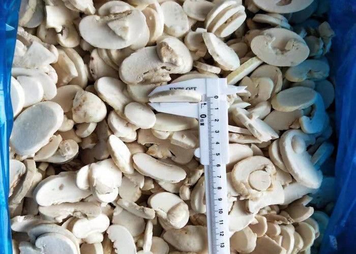BRC No Residue IQF Frozen Sliced Champignon Mushroom For Catering